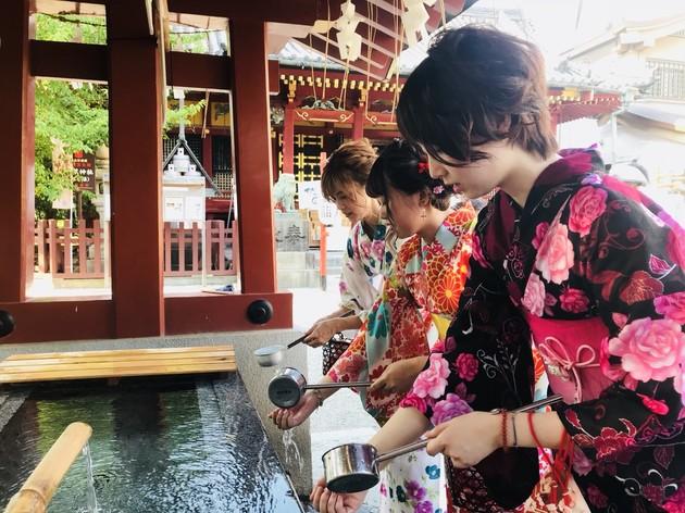 浅草寺のおみくじ写真