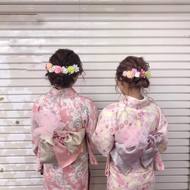 浅草でレンタル着物