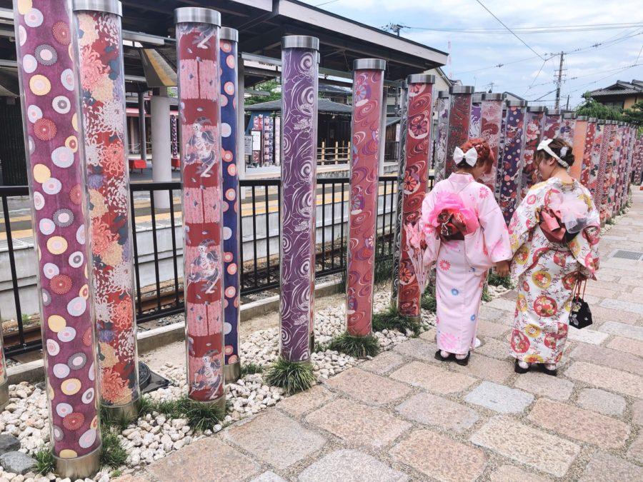 京都のキモノフォレストと着物レンタル