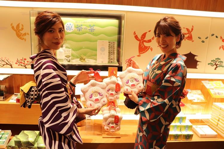 京都で浴衣レンタルをしてお土産購入